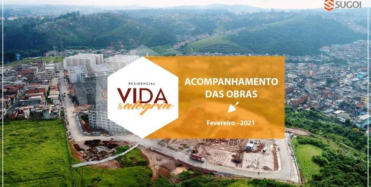 Confira a evolução do Residencial Vida e Alegria, localizado em São Mateus – Zona leste de São Paulo: